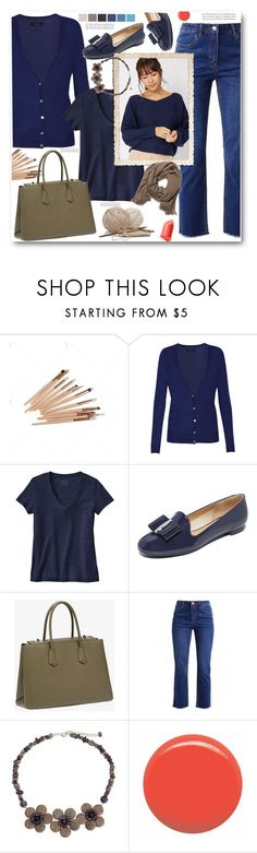 """""""Outfit of the Day"""" by ucetmal-1 ❤ liked on Polyvore featuring Isabel Marant, Patagonia, Salvatore Ferragamo, Guide London, Prada, NOVICA, JINsoon, Bobbi Brown Cosmetics, bluejeans and outfitoftheday"""