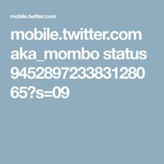 mobile.twitter.com aka_mombo status 945289723383128065?s=09