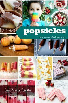popsicle recipe round up @ momsbyheart.net
