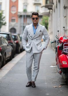 How to avoid the boxy, baggy mobster look and win one million style points.