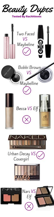 Makeup Dupes                                                                                                                                                                                 More