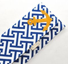 WOMEN'S WALLET /// Anchors Aweigh Wallet. $29.00, via Etsy.