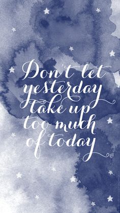 Watercolor quote iphone wallpaper {lifestyleandliving.se}