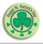 Happy St Patrick's Day by mysticdragonss on Etsy, $1.50    >>>>>>>>>>