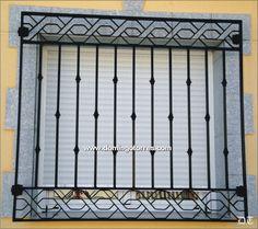rejas para ventanas artisticas - Google Search Modern Window Design, Modern Windows, Door Grill, Window Grill Design, Iron Gate Design, House Gate Design, Iron Windows, Iron Doors, Iron Gates