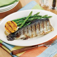 Grill up a fresh catch for dinner with this easy #HEBRecipe. All you need is trout, olive oil, salt, and pepper!