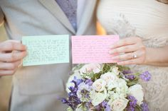 photo of vows to frame over the bed
