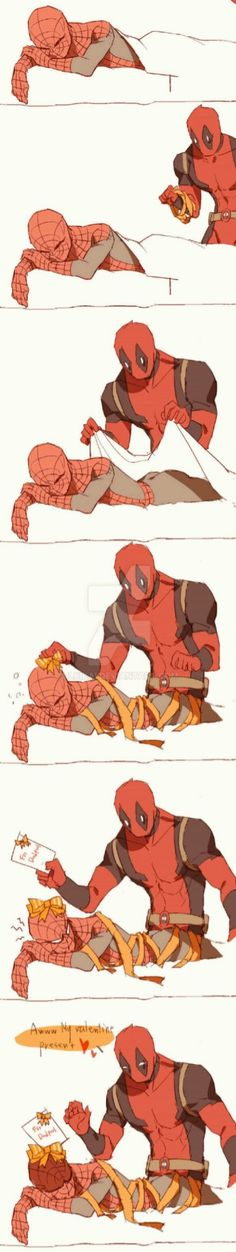 Read Spideypool 34 from the story Spideypool by (yuki chan) with reads. Marvel 3, Marvel Jokes, Marvel Funny, Marvel Heroes, Marvel Universe, Deadpool X Spiderman, Iron Man Capitan America, Wattpad, Image Couple