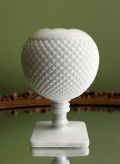 Hey, I found this really awesome Etsy listing at https://www.etsy.com/listing/174150624/westmoreland-milk-glass-ivy-vase-planter