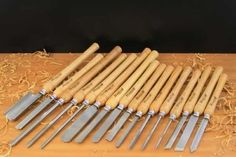 Guide for woodturning tools for beginners! #woodturning #tools http://www.handymantips.org/woodturning-tools/:
