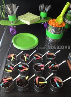 Teenage Mutant Ninja Turtle Party- tanner's birthday is coming up! Lol