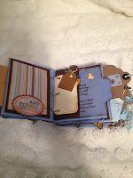 Out on a Limb: Paper Bag Baby Boy Album & Diaper Bag