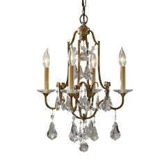 Shop Feiss  F2480/4OBZ 4 Light Valentina Mini Chandelier, Oxidized Bronze at ATG Stores. Browse our chandeliers, all with free shipping and best price guaranteed.