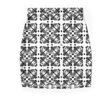 Hidden Circles Mini Skirt