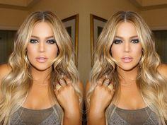 Image result for blonde khloe kardashian