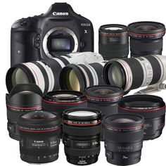 Canon Lenses #Canon #Photography