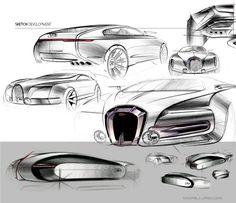 Bugatti Grand Colombier - Ondrej Jirec: Transporation Design