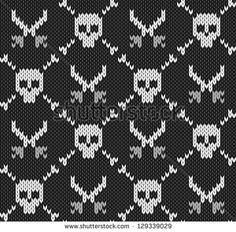 New knitting fair isle pattern cross stitch ideas Fair Isle Knitting Patterns, Knitting Charts, Knitting Designs, Knitting Stitches, Knitting Yarn, Knit Patterns, Knitting Projects, Beading Patterns, Cross Stitch Patterns