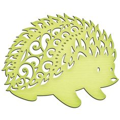 Spellbinders - Shapeabilities Collection - InSpire Die - Hedgehog at… Paper Art, Paper Crafts, Hedgehog Craft, Animal Templates, Scroll Saw Patterns, Kirigami, Baby Decor, Paper Cutting, Die Cutting