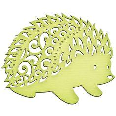 Spellbinders - Shapeabilities Collection - InSpire Die - Hedgehog at Scrapbook.com This is so very cute!