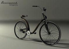 Bentwood Bicycle on Behance designed by Anna Woźniakowska