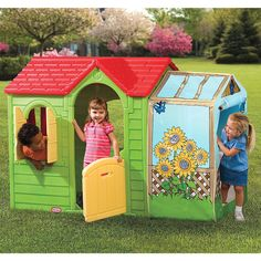 Little Tikes Evergreen Garden Cottage