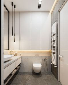 Graceful tall narrow bathroom storage cabinet to inspire you Minimalist Bathroom Design, Modern Bathroom Design, Bathroom Interior Design, Bath Design, Bathroom Designs, Modern Bathrooms, Modern Faucets, Modern Design, Minimal Bathroom