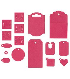 We R Memory Keepers Lifestyle Crafts It Kits Dies Tags