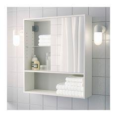 FULLEN Mirror cabinet, white 60x67 cm white