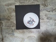 Sardinenköpfe auf Leinwand. 2009. effage