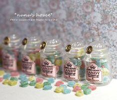 *Candy Pot仕上げ* - *Nunu's HouseのミニチュアBlog* 1/12サイズのミニチュアの食べ物、雑貨などの制作blogです。