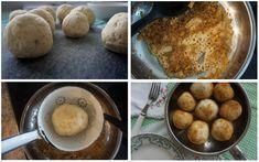 Erdbeerknödel • Die Erdbeere French Toast, Muffin, Breakfast, Food, Strawberries, Kochen, Food Food, Simple, Breakfast Cafe