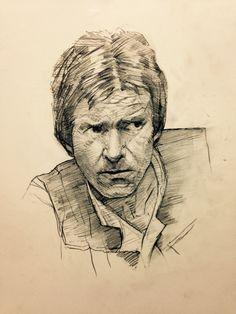Star Wars - Han Solo by Dave Seguin *