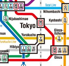 Tokyo Metro Subway Map - Good orientation to the system at this link. The subway connects underground to Tokyo Skytree, Roppongi Hills and other popular spots. Subway takes you to Sensoji Temple in Asakusa, Shibuya scramble crossing, Shinjuku Kabukicho, Tsukiji Market, Kabuki-za (Higashi-ginza) and Tokyo Tower (Kamiyacho).