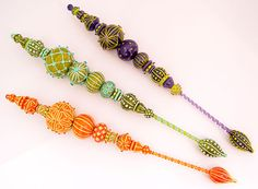 Jari Sheese makes the MOST amazing glass beads.