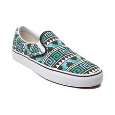 Shop for Vans Slip On Geo Skate Shoe in Black Scuba at Journeys Shoes.