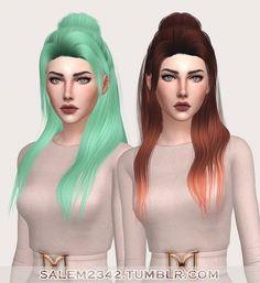 Sinti Hair at Salem2342 via Sims 4 Updates