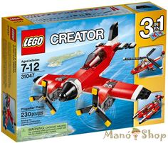 Lego Creator Légcsavaros Repülőgép 31047