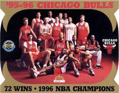 Chicago bulls | Chicago Bulls 1995-1996 - Solo Triples