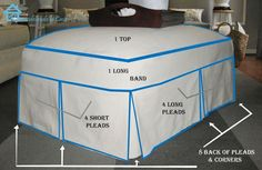 Sew a Slip cover for your ottoman