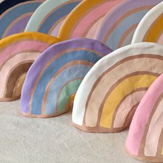 ceramic rainbows