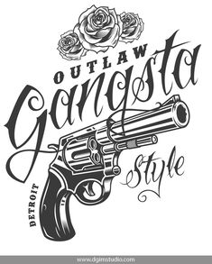Save buying this big gangster BUNDLE This product includes some other products: Gangster Drawings, Gangster Tattoos, Revolver Tattoo, Tattoo Lettering Fonts, Graffiti Lettering, Logo Typo, Lettrage Chicano, Outlaw Tattoo, Chicanas Tattoo