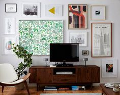 Framing Wallpaper as Artwork