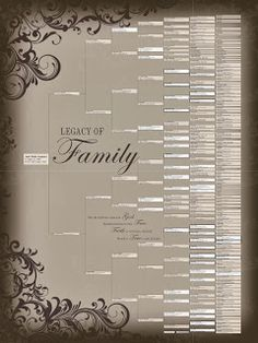 76 best pedigree charts images on pinterest family trees
