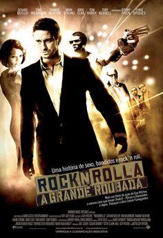 Rocknrolla (Brazilian) 11x17 Movie Poster (2008)