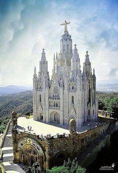 The Light of Faith — cvllam:   Sacred Heart Church at Tibado, Spain.