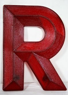 R is for Red