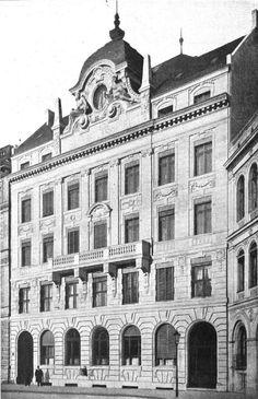 Berlin-Mitte 1902 Geschaeftshaus der Berliner Strassenbahngesellschaft am Leipziger Platz 14