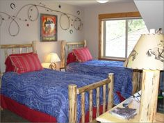 Western kids rooms on pinterest western rooms western for Cowgirl bedroom ideas for kids