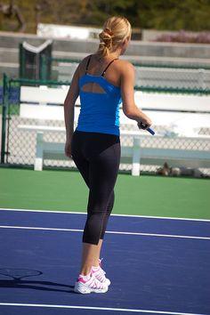 Tennis_Alona Alona Bondarenko, Tennis Players Female, Maria Sharapova, Sporty, March, Blue, Style, Fashion, Swag